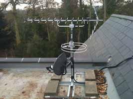 aerial system forfar