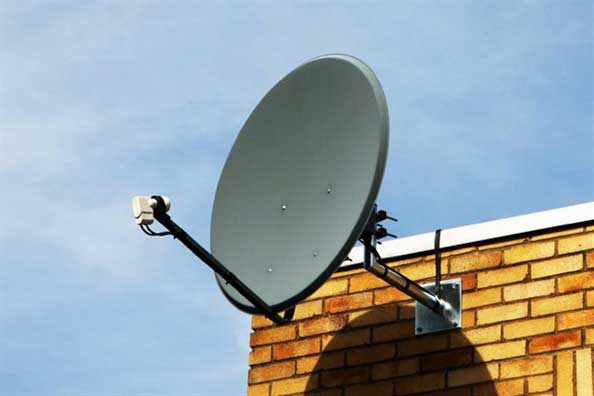european satellite dish installation angus